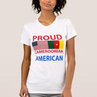 Stolzer kamerunischer Amerikaner T-Shirt