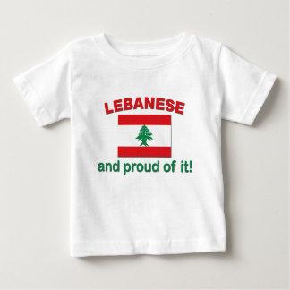 Stolzer Libanese Baby T-shirt
