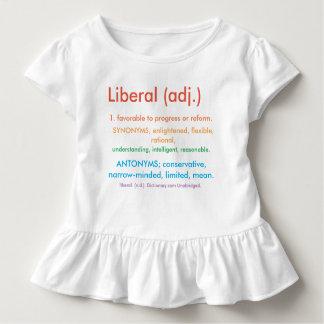 Stolzer Liberaler Kleinkinder T-shirt