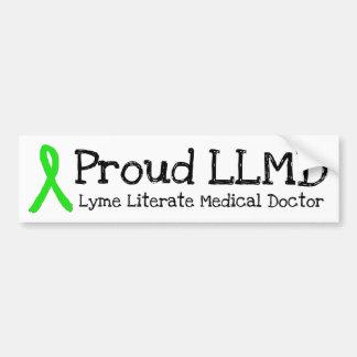 Stolzer LLMD Lyme Autoaufkleber
