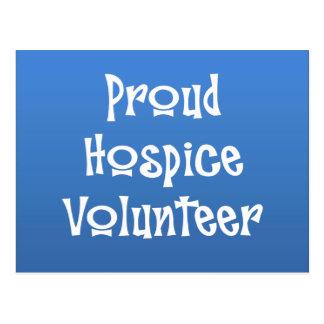 Stolzer Pflegeheim-Freiwilliger Postkarte