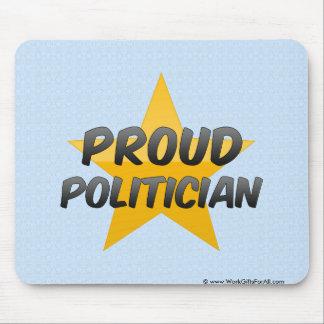 Stolzer Politiker Mauspad