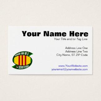 Stolzer Sohn - Vietnam-Tierarzt Visitenkarte