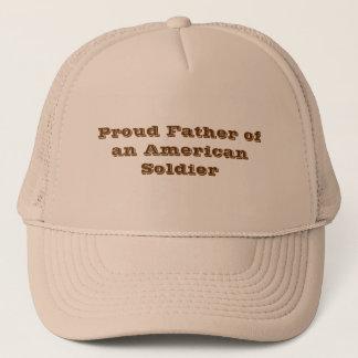 """""""Stolzer Vater eines amerikanischen Soldaten """" Truckerkappe"""