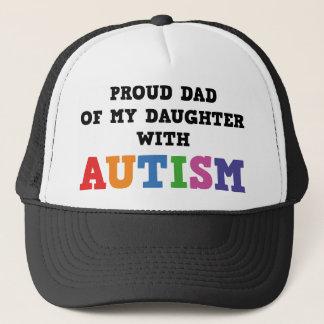 Stolzer Vati meiner Tochter mit Autismus Truckerkappe