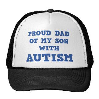Stolzer Vati meines Sohns mit Autismus Baseball Mützen
