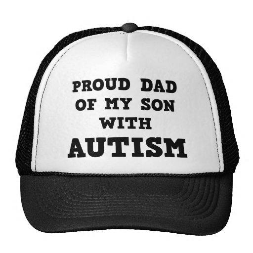 Stolzer Vati meines Sohns mit Autismus Netzcap
