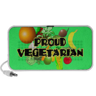 Stolzer vegetarischer Gekritzel-Lautsprecher Reise Speaker
