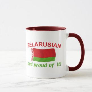 Stolzes belarussisches tasse