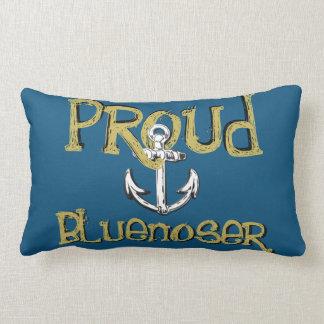Stolzes Bluenoser Neuschottland Anker-Kissenblau Lendenkissen