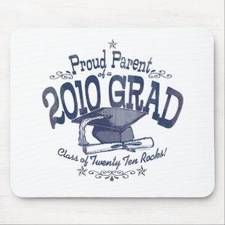 Stolzes Elternteil von Absolvent 2010 Mousepads
