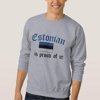 Stolzes estnisches sweatshirt