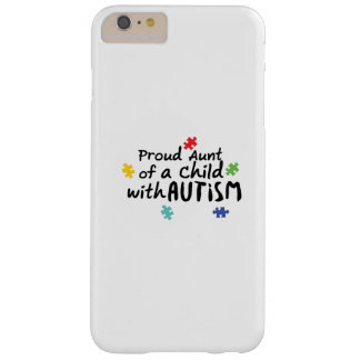 Stolzes Geschenk Tanten-Autism Awareness Puzzle Barely There iPhone 6 Plus Hülle