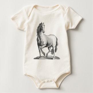 Stolzes Pferd Baby Strampler