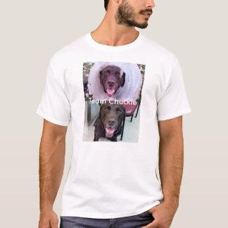 Stolzes Schokoladen-Labrador-Gruppen-Mitglied T-Shirt