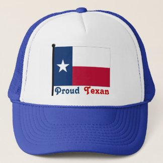 Stolzes Texas Truckerkappe