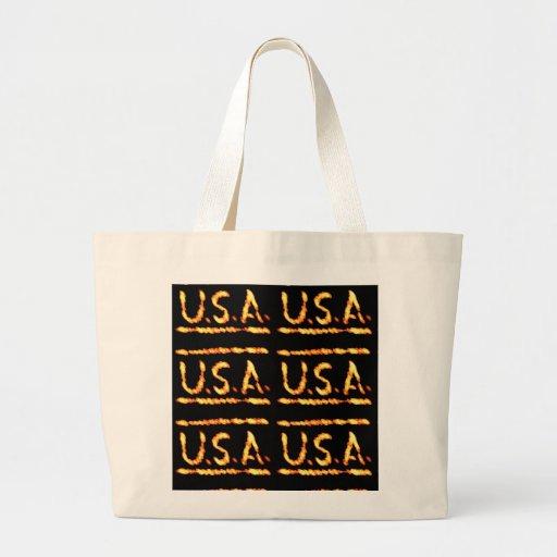 Stolzes USA-Gold: Gefühl-überzeugte Tragetaschen
