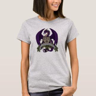 Stonefire Drache-Wappen (lila), der T - Shirt der
