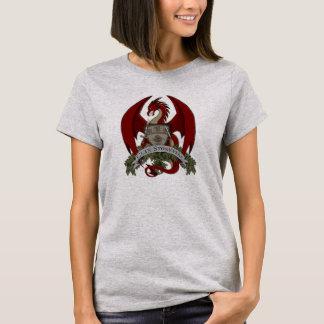 Stonefire Drache-Wappen (rot), der T - Shirt der