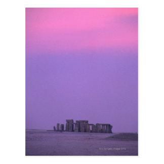 Stonehenge, England Postkarte