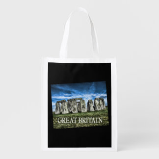 Stonehenge England TEXT Großbritannien Einkaufstaschen