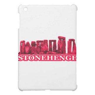 Stonehenge magentarotes Weiß die MUSEUM Zazzle Ges Hülle Für iPad Mini