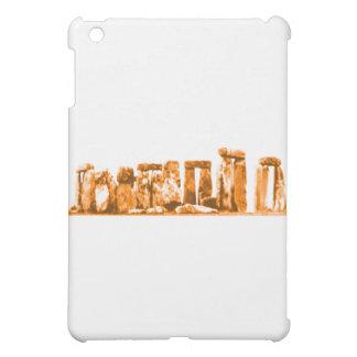 Stonehenge Orange die MUSEUM Zazzle Geschenke Hüllen Für iPad Mini
