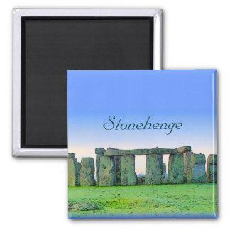 Stonehenge Quadratischer Magnet
