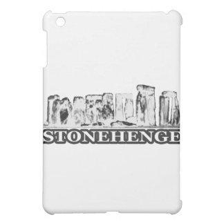Stonehenge Schwarz-weiß die MUSEUM Zazzle Hüllen Für iPad Mini