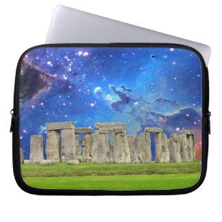 Stonehenge u. Stern-alter historischer Standort Laptopschutzhülle