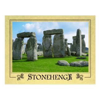 Stonehenge, Wiltshire, England Postkarte