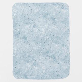 Stoney Weiß u. Blau Puckdecke