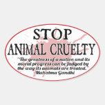 Stop Animal Cruelty Sticker