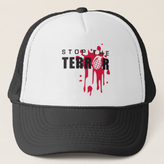 stop the terror truckerkappe