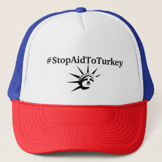 #StopAidToTurkey Hut Truckerkappe