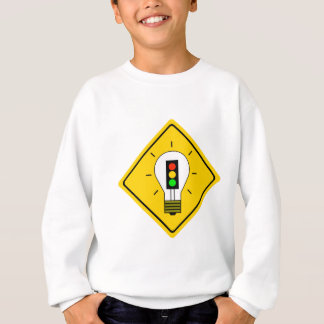 Stoplight-Glühlampe voran Sweatshirt