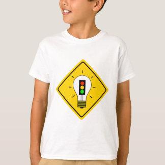 Stoplight-Glühlampe voran T-Shirt