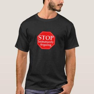 Stoppen Sie, #2 zu argumentieren T-Shirt