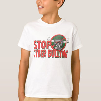 Stoppen Sie, AntiCyberbully Gang T-Shirt