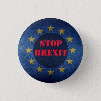 Stoppen Sie Brexit kleines Button-Knopf-Abzeichen Runder Button 3,2 Cm