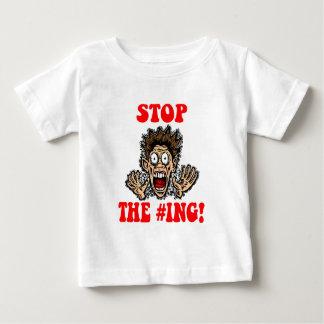 stoppen Sie das Hashtagging Baby T-shirt