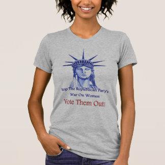 Stoppen Sie den Krieg auf Frauen Shirt