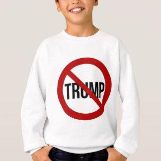 Stoppen Sie Donald Trump Anti-Trumpf 2016 Sweatshirt