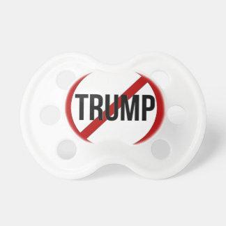 Stoppen Sie Donald Trump Anti-Trumpf Schnuller