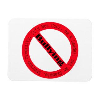 Stoppen Sie Einschüchtern-Logo durch Shirley Magnet