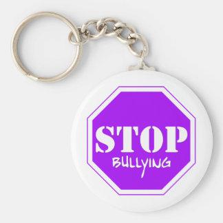 Stoppen Sie einzuschüchtern Schlüsselanhänger