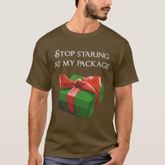 Stoppen Sie, entlang meines T-Shirt