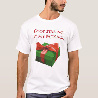 Stoppen Sie, entlang meines T-Shirt