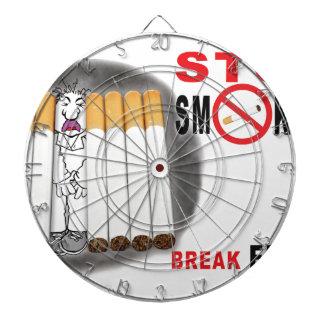 Stoppen Sie, Erinnerungen zu rauchen - nicht mehr Dartscheibe