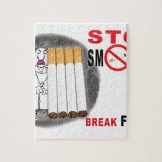 Stoppen Sie, Erinnerungen zu rauchen - nicht mehr Puzzle